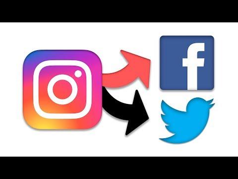 Cómo Vincular Instagram con Facebook y Twitter