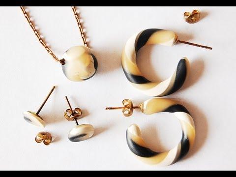 Clay Hoop Earrings and Neutral Accessories!