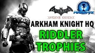Batman: Arkham Knight – Riddler Trophies – Bleake Island