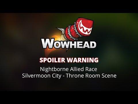 Nightborne Silvermoon City - Throne Room Cutscene