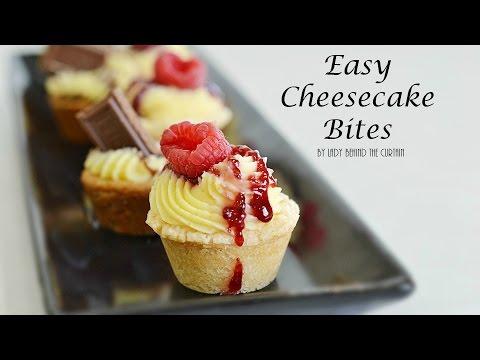 Easy Cheesecake Bites