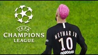 NEYMAR vs DORTMUND | Champions League UEFA | 11 Mars 2020 | PES 2020