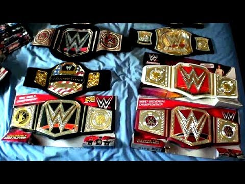 WWE Championship Belts Collection (2017)
