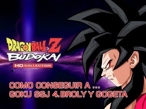 Dragon Ball Z Budokai HD Collection / Como Conseguir a Goku SSJ 4 , Broly y Gogeta / Budokai 3