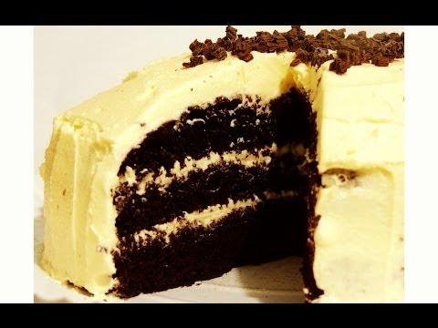 Salted Caramel Dark Chocolate Cake Recipe
