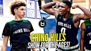 LaMelo Ball & Chino Hills Put On a SHOW FOR THE AGES! 2nd Round Win vs LB Poly Full Highlights!