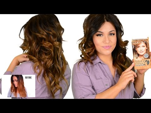 DIY DRUGSTORE Tone Brassy Orange, Ombre & Highlighted Hair
