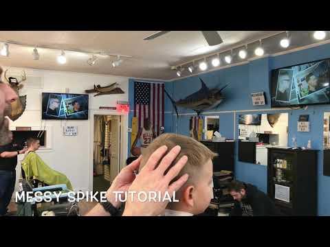 Boy's Messy Spike Haircut Tutorial