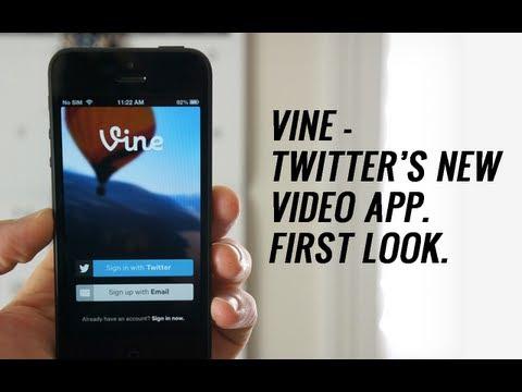 Vine - Twitter's New Video App. FIRST LOOK.