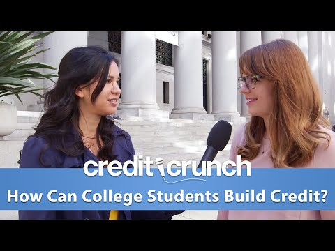 How Can College Students Build Credit? - Credit Crunch Episode 1