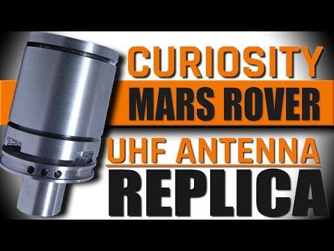CNC Machining a Mars Curiosity Rover Antenna!