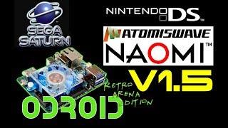 Odroid Xu4 Running Recalbox 4 1 N64 Dreamcast PSP Emulator Test