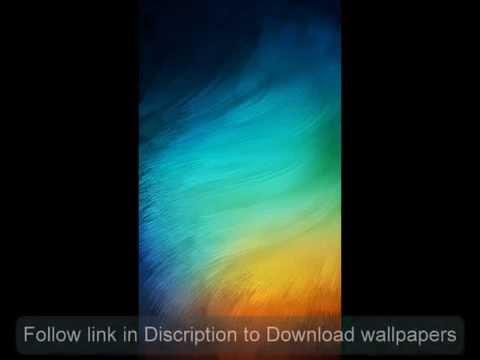 Xiaomi MIUI 6 lockscreen wallpaper