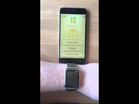 Apple Watch and GameSalad Quiz Template!