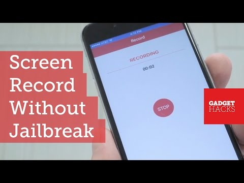 Record Your iPhone's Screen Without Cables or Jailbreak [How-To]