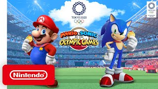 Mario & Sonic at the Olympic Games Tokyo 2020 - Launch Trailer - Nintendo Switch