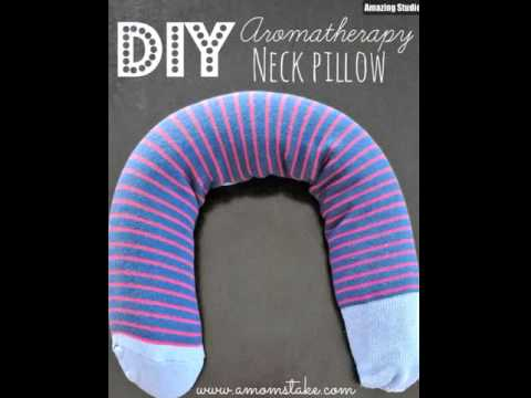 DIY Aromatherapy Neck Pillow
