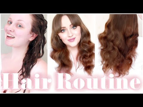 HAIR ROUTINE: Wet To Dry To Styled - Long Curly/Wavy Hair | Becca Rose