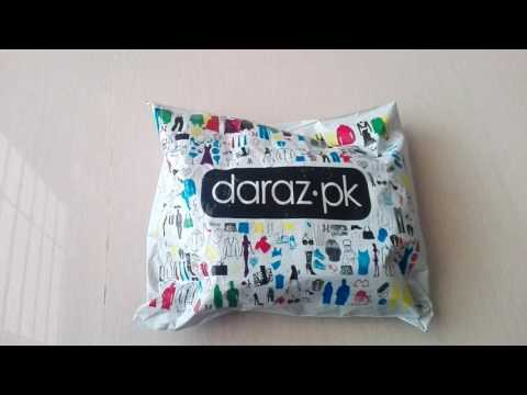 Online shopping experience from daraz.pk