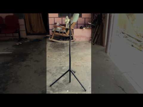 DIY Microphone Stand for my short films. [ snow ball mic ] [ low budget ]