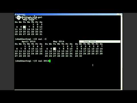 Two Minute UNIX - How to find more information about UNIX system calendar - 003