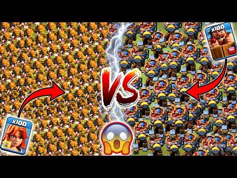 Max Valkyrie vs Max Battle Machine 🔥🔥 Clash of Clans Ultimate Battle | Battle Machine vs Valkyrie