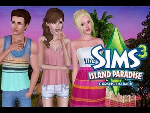 Let's Play the Sims 3 Island Paradise! Part 15: Toddler Mermaid