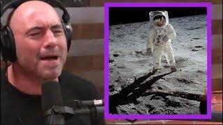 Joe Rogan - Moon Landing Footage Was Faked!
