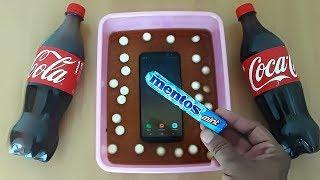 CRAZY Experiments : Samsung Galaxy S8 Plus VS Coca-Cola & Mentos Survive My Phone?