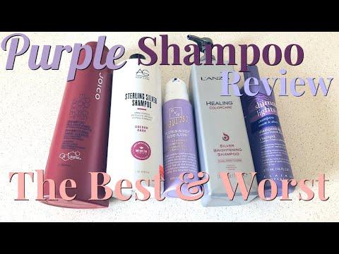 PURPLE SHAMPOO REVIEW 2018   The Best & Worst Purple Shampoos