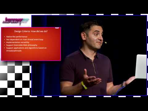Naveed Ihsanullah: Parallelism experiments in JavaScript | JSConf US 2015