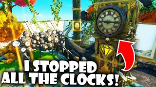 I Stopped All the Clocks in the NEW Fortnite Creative Hub!