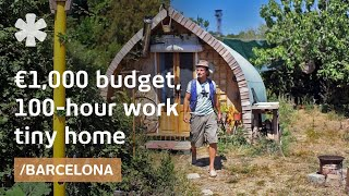 Building €1,000 small home in 100 hours from open source design