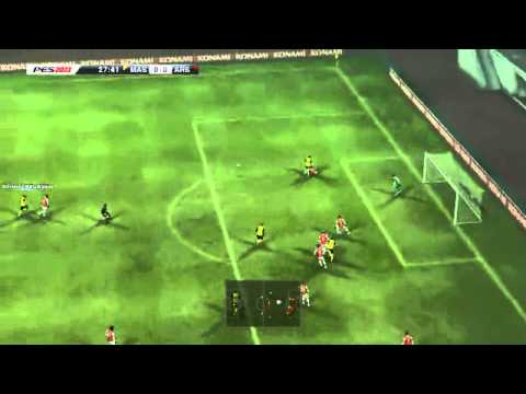 PES 2013 MSL Malaysia vs Arsenal 1st Half