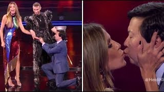 Hedi Klum & Ken Jeong Get ENGAGED On TV After NEARLY DYING Together! | America