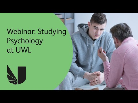 Webinar: Studying Psychology at the University of West London