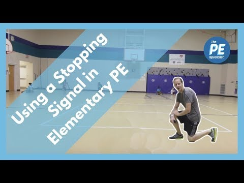 Using a Stopping Signal in Elementary PE