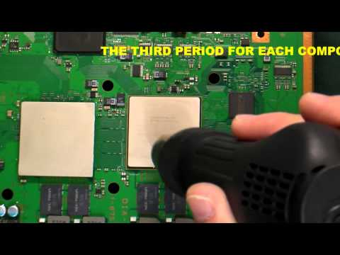 PlayStation 3 Motherboard Reflow