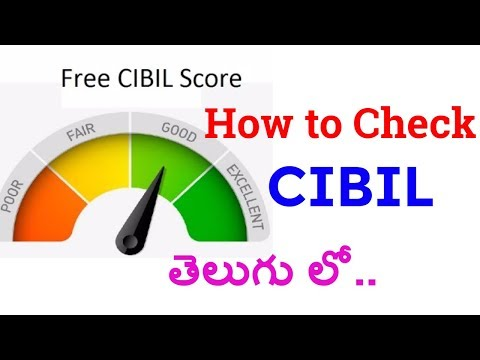 CIBIL Score | How to Check CIBIL credit information report Free Online (in Telugu) | Digitalhub9