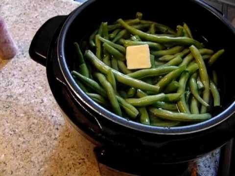 Green Beans In the Electric Pressure Cooker!