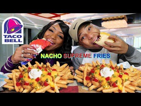 Taco Bell Nacho Supreme Fries Mukbang with It's Darius