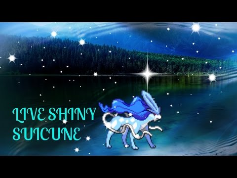 ((WSHC#5)) LIVE SHINY SUICUNE IN POKEMON HEART GOLD