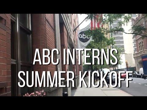 ABC Summer Intern Kickoff! - Disney PI Summer 2016