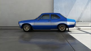 Forza Motorsport 6 - 1970 Ford Escort RS1600 Fast & Furious Edition