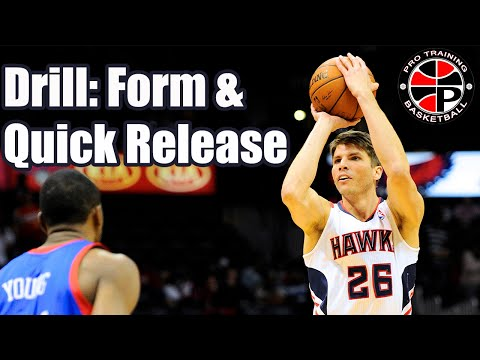 Form and Quick Release Shooting Drill | Improve Your Jump Shot | Pro Training Basketball