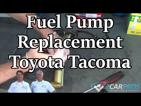 Fuel Pump Replacement Toyota Tacoma 1995-2004