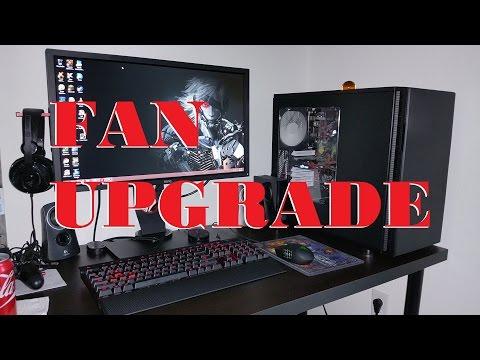 2015 Gaming PC Fan Upgrade