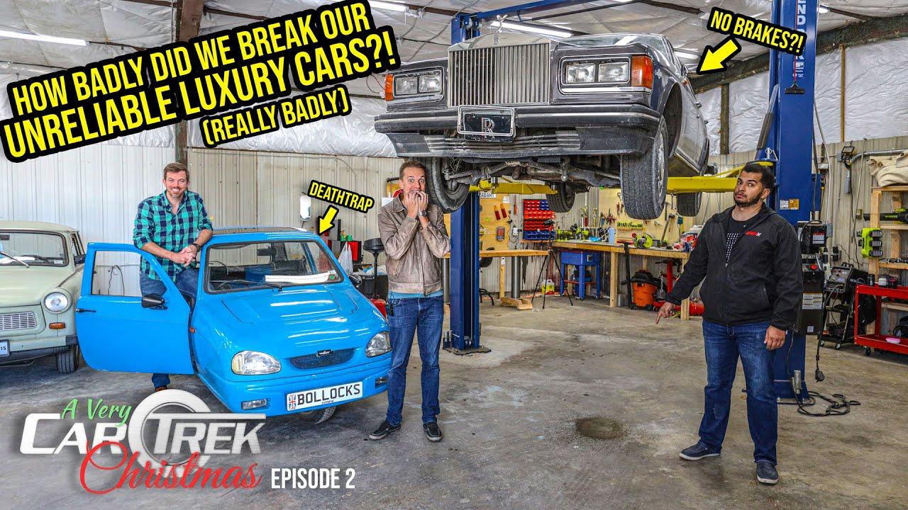 Here's How BROKEN Our Unreliable Luxury Cars Actually Are (SPOILER ALERT: VERY BROKEN)
