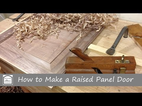 How to Make a Raised Panel Door with Hand Tools - Part 1 (Making the Frame)