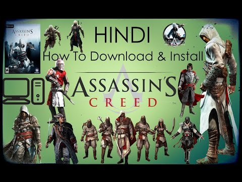How To Download & Install Assassin's Creed 1 In HINDI